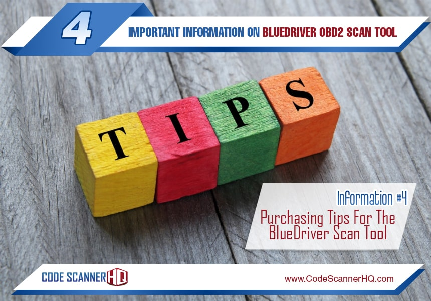 why buy bluedriver scan tool